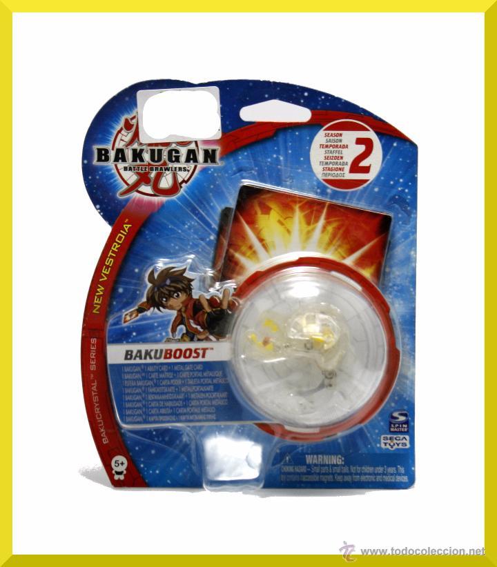BLISTER BAKUGAN BAKUBOOST BAKUCRYSTAL - CRISTAL TEMPORADA 2 - BIZAK - NUEVO (Juguetes - Figuras de Acción - Otras Figuras de Acción)