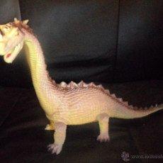 Figuras de acción: MONSTRUO DRAGON BICEFALO PVC - GODZILLA - 22CM. DE LARGO X 20 DE ALTO. Lote 54097419