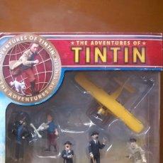 Figuras de acción: TINTIN BLISTER CON FIGURAS. Lote 56223500