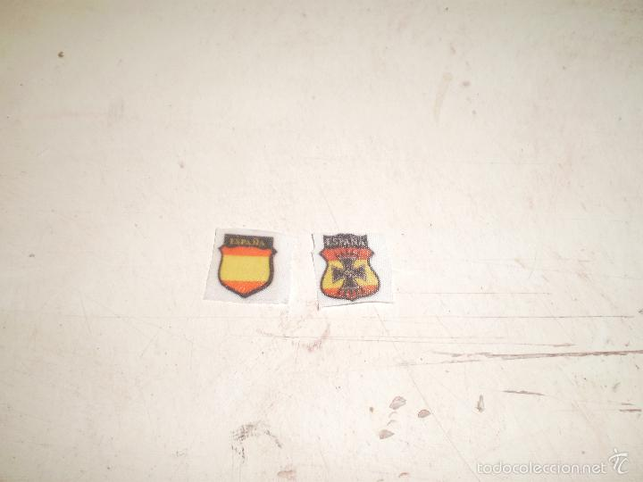 CUSTOM DRAGON PARCHES DIVISION AZUL ESPAÑOLA ESCALA 1/6 (Juguetes - Figuras de Acción - Otras Figuras de Acción)