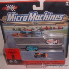 Figuras de acción: MICRO MACHINES, MICROMACHINES RACING, SET DE PISTA, EN BLISTER. CC. Lote 56931334