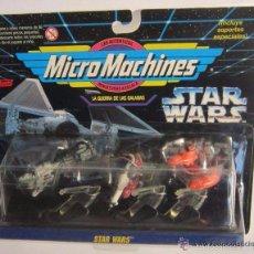 Figuras de acción: MICRO MACHINES STAR WARS, DE FAMOSA, EN BLISTER. CC. Lote 56931383