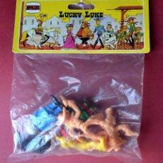 Figuras de acción: FIGURAS DE LUCKY LUKE, SIN ABRIR. Lote 57196699