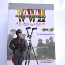 Figuras de acción: ACTION FIGURE DRAGON WWII 1944 ERWIN ROMMEL ESCALA 1/6. Lote 57631806