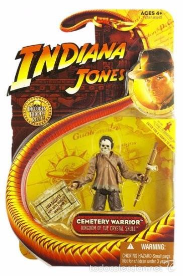 INDIANA JONES - CEMETARY WARRIOR - HASBRO (Juguetes - Figuras de Acción - Otras Figuras de Acción)