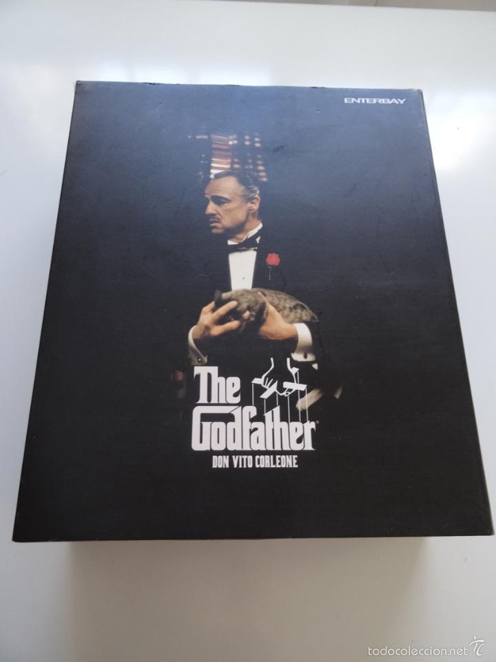 Figuras de acción: Figura Enterbay El padrino The Godfather Don Vito Corleone escala 1/6 - Foto 2 - 58382826