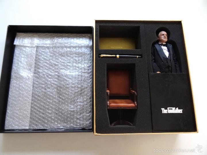 Figuras de acción: Figura Enterbay El padrino The Godfather Don Vito Corleone escala 1/6 - Foto 4 - 58382826