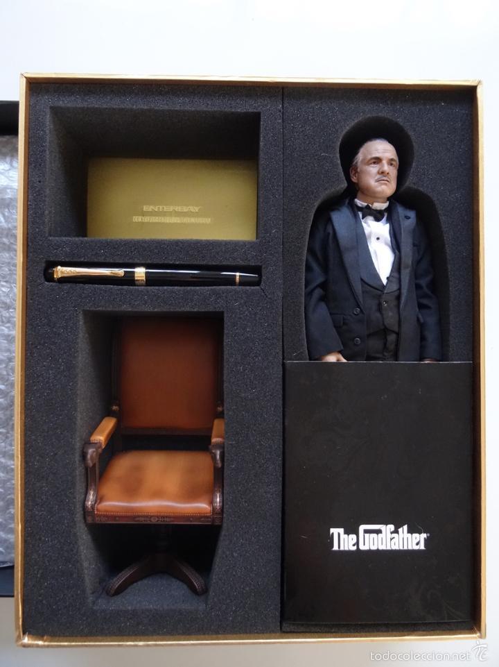 Figuras de acción: Figura Enterbay El padrino The Godfather Don Vito Corleone escala 1/6 - Foto 5 - 58382826