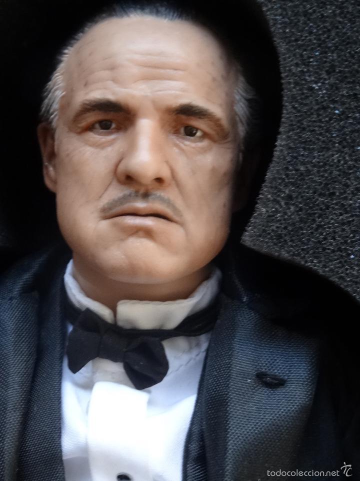 Figuras de acción: Figura Enterbay El padrino The Godfather Don Vito Corleone escala 1/6 - Foto 6 - 58382826