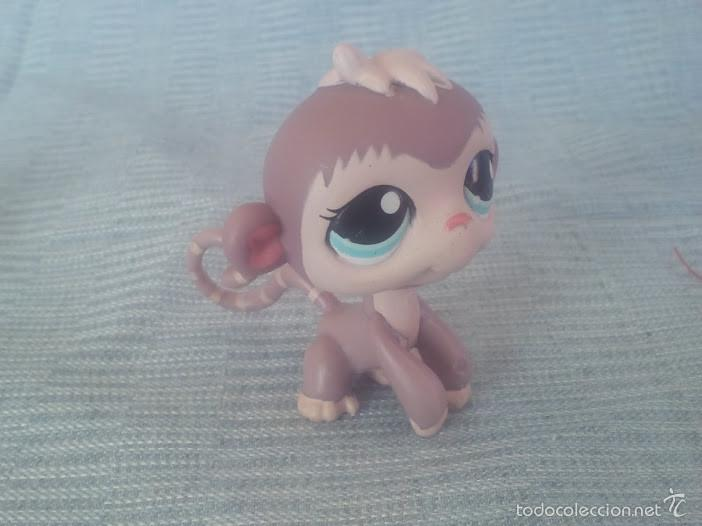 Figuras de acción: littlest pet shop monito original - Foto 1 - 58422236