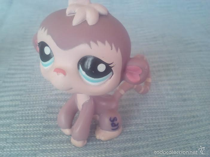 Figuras de acción: littlest pet shop monito original - Foto 2 - 58422236