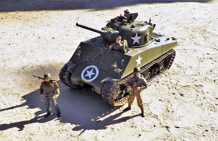 Figuras de acción: Dragon Models 1:6 Carro de combate Sherman - Foto 4 - 61124247