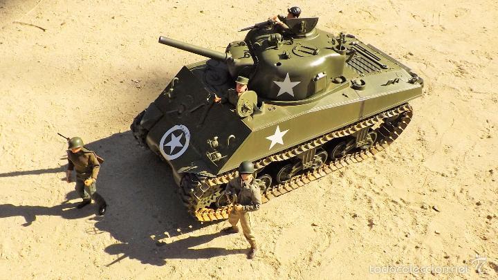 Figuras de acción: Dragon Models 1:6 Carro de combate Sherman - Foto 3 - 61124247