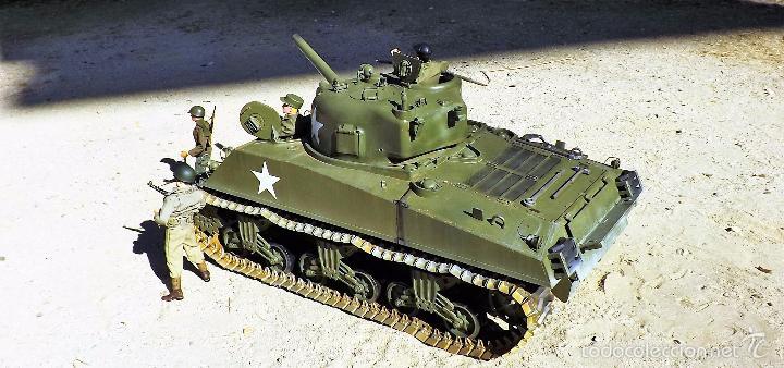Figuras de acción: Dragon Models 1:6 Carro de combate Sherman - Foto 7 - 61124247