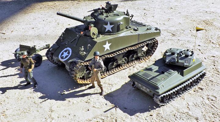 Figuras de acción: Dragon Models 1:6 Carro de combate Sherman - Foto 18 - 61124247