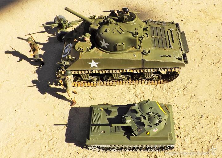 Figuras de acción: Dragon Models 1:6 Carro de combate Sherman - Foto 20 - 61124247