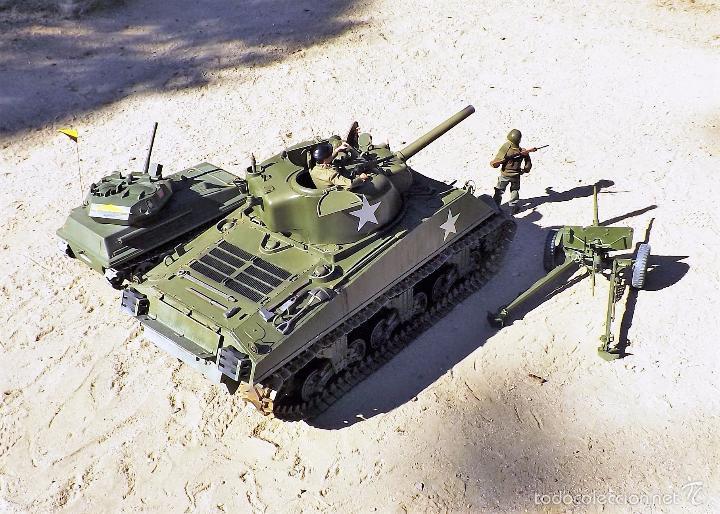 Figuras de acción: Dragon Models 1:6 Carro de combate Sherman - Foto 21 - 61124247