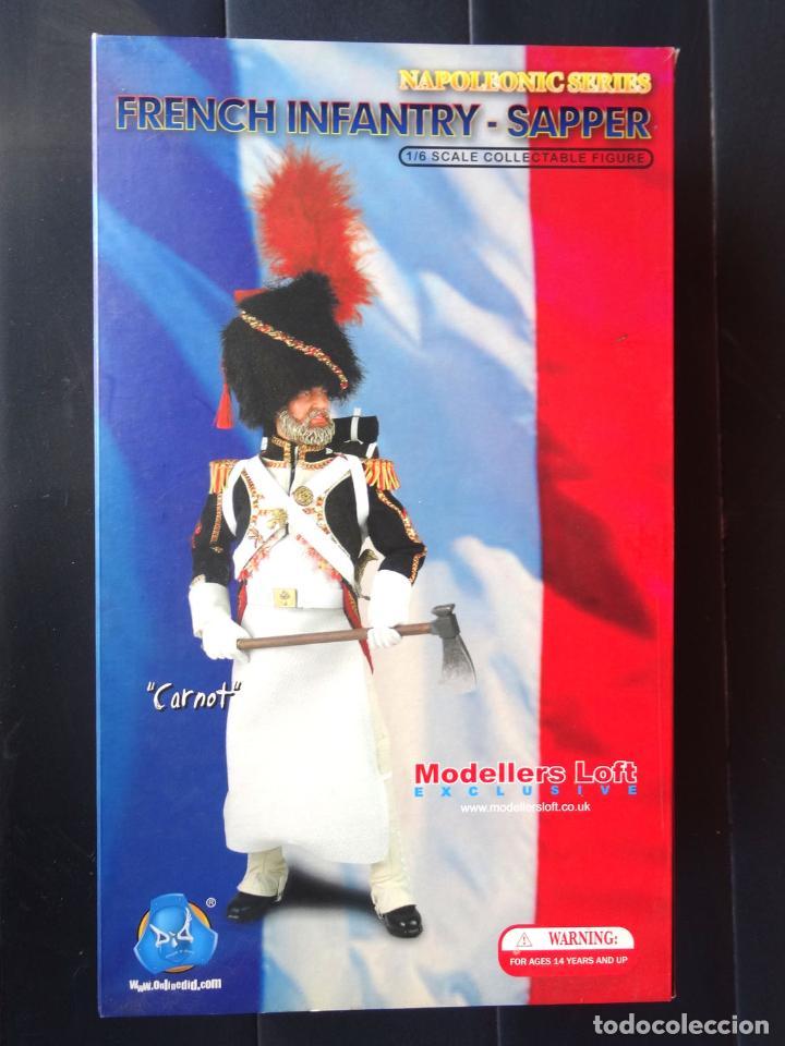 Figuras de acción: Action Figure DID Napolecic Series Francia Infantería Carnot escala 1:6 - Foto 2 - 63941407
