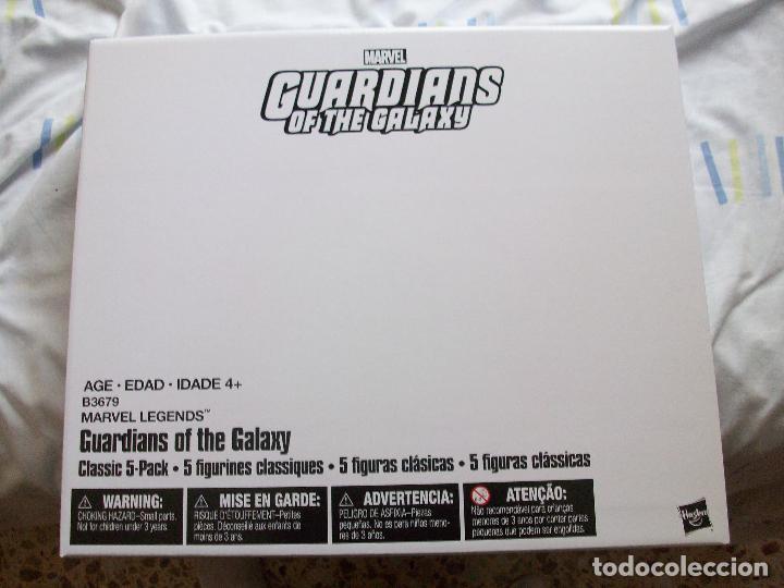 Figuras de acción: GUARDIANES DE LA GALAXIA FIVE PACK MARVEL LEGENDS EN CAJA. - Foto 5 - 64396943
