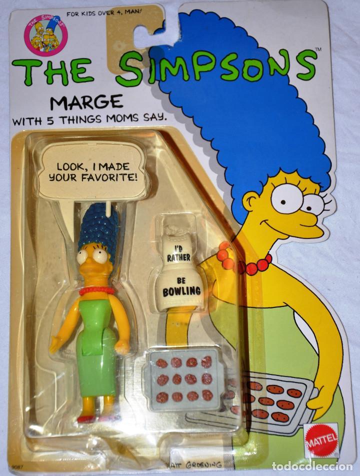 MODELO 4: THE SIMPSONS LOOK I MADE YOUR FAVORITE!. 1990. MATTEL. [NUEVO] (Juguetes - Figuras de Acción - Otras Figuras de Acción)