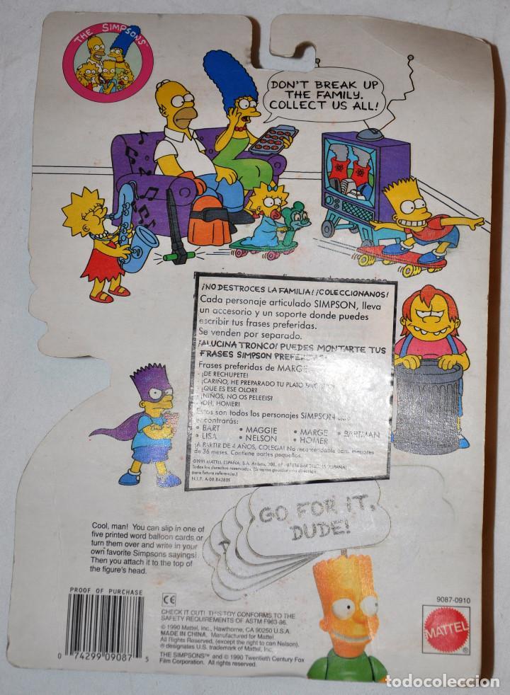 Figuras de acción: MODELO 4: THE SIMPSONS LOOK I MADE YOUR FAVORITE!. 1990. MATTEL. [NUEVO] - Foto 2 - 66888426