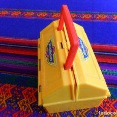 Figuras de acción: BOX COMPETICIÓN MICRO MACHINES. FAMOSA AÑOS 80. RARO Y MUY BUEN ESTADO.. Lote 68638473