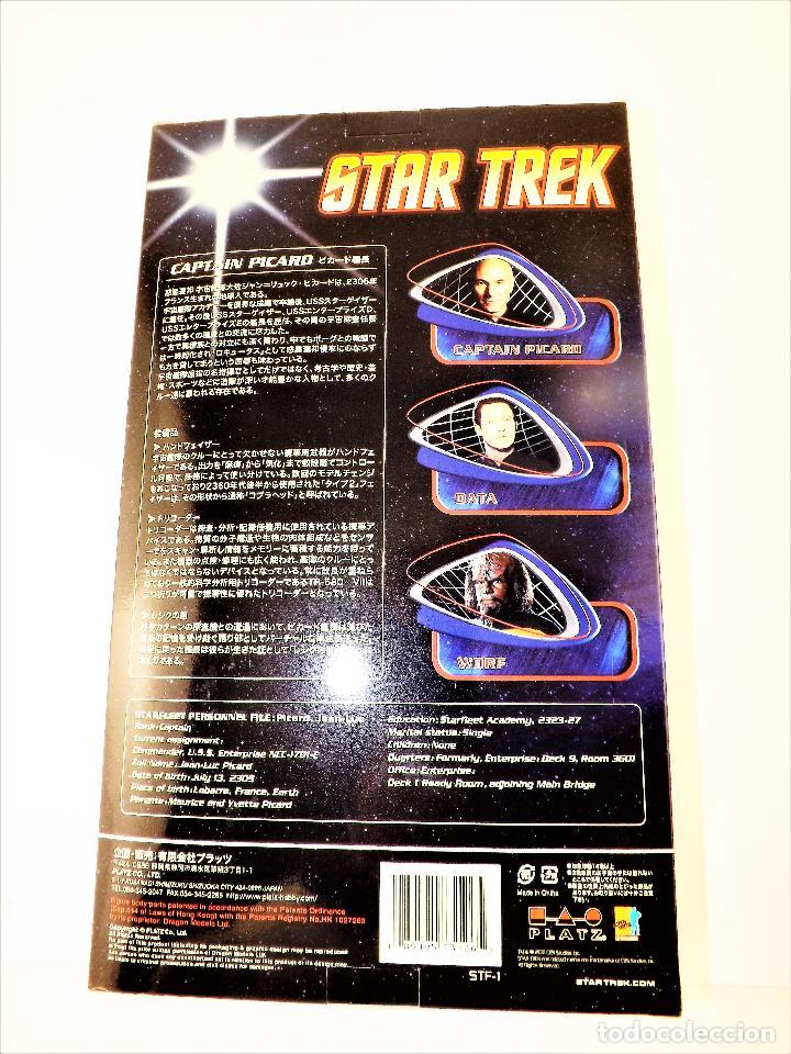 Figuras de acción: Dragon Models Star Trek Captain Picard. - Foto 4 - 195226083