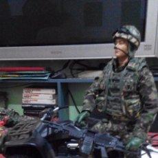 Figuras de acción: HM ARMED FORCES.QUAD+SOLDADO TIPO MADELMAN.GEYPERMAN,LEE DESCRIPCION, COMO SE VE. Lote 102660342