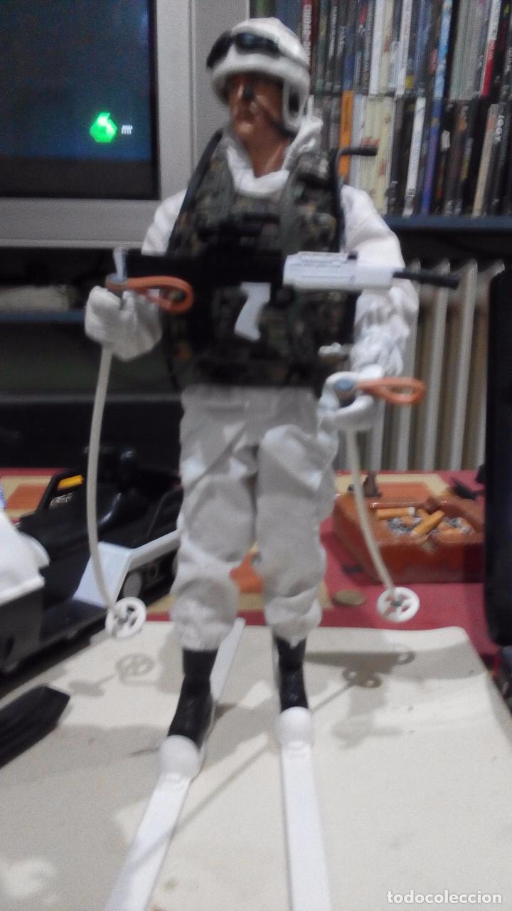 Figuras de acción: hm armed forces.moto nieve+ soldado tipo madelman.geyperman,lee descripcion, como se ve - Foto 4 - 221881515