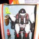 Figuras de acción: ROBOT XYROX . EURO PLAY - GERMANY EN CAJA WALKING LIGHT ACTION. FUNCIONA A PILAS CAMINA . Lote 70356753