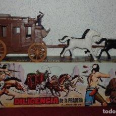 Figuras de acción: DILIGENCIA DE LA PRADERA DOMENECH. Lote 70696157