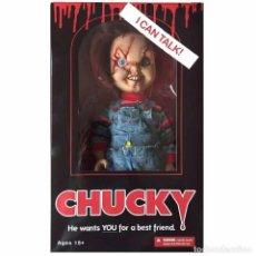Figuras de acción: CHUCKY - HE WANTS YOU FOR A BEST FRIEND - MEZCO. Lote 94746090
