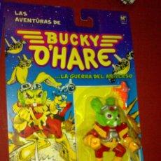 Figuras de acción: FIGURA BUCKY DE LA SERIE BUCKY O'HARE NUEVA EN SU BLISTER A ESTRENAR*. Lote 109527587