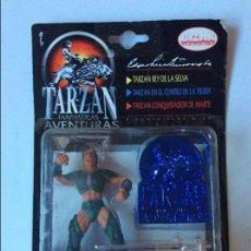 Figuras de acción: TARZAN FASTASTICAS AVENTURAS BIZAK . Lote 73518687