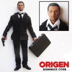 Figuras de acción: INCEPTION ORIGEN DOMINICK COBB LEONARDO DICAPRIO 1/6 1:6 CUSTOM HOT TOYS SIDESHOW FIGURE FIGURA. Lote 74201607