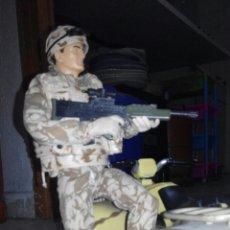 Figuras de acción: HM ARMED FORCES.QUAD+SOLDADO TIPO MADELMAN.GEYPERMAN,LEE DESCRIPCION, COMO SE VE. Lote 70317137
