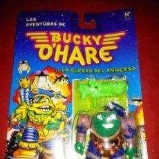 Figuras de acción: FIGURA TODO MARISCAL DE LA SERIE BUCKY O'HARE NUEVA EN SU BLISTER A ESTRENAR*. Lote 97397278