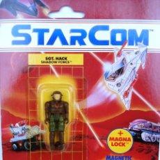 Figuras de acción: FIGURA MUÑECO STARCOM SGTO. HACK. AÑOS 80. NUEVO EN BLISTER ORIGINAL EN PERFECTO ESTADO.. Lote 78286089