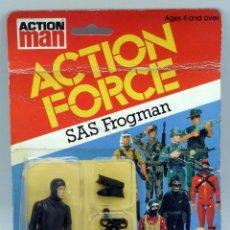 Figuras de acción: ACTION FORCE SAS FROGMAN NUEVO EN BLISTER AÑOS 80. Lote 79775701