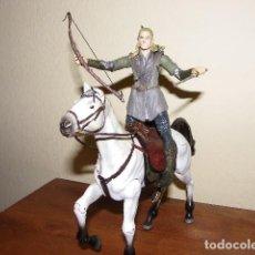 Figuras de acción: LEGOLAS CON CABALLO MARVEL 2001 DECATALOGADO. Lote 79873357