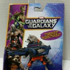 Figuras de acción: GUARDIANS OF THE GALAXY. ROCKET RACCOON. FIGURA ARTICULADA. MARVEL. HASBRO. GUARDIANES DE LA GALAXIA. Lote 80254147