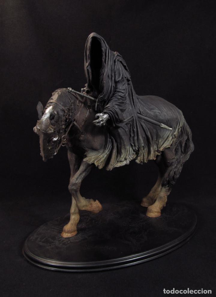 Figuras de acción: Figura Sideshow Weta. Nazgul a caballo. El Señor de los Anillos. Leer oferta en el interior!! - Foto 4 - 80260957