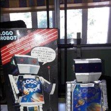 Figuras de acción: ROBOT PARLANTE CHARLY LOGO ROBOT DE REEL RADIO CONTROL CON CAJA AÑOS 80 DIFICIL. Lote 86502796