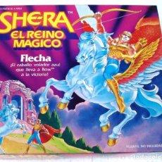 Figuras de acción: SHE-RA- SHERA: FLECHA, EL CABALLO VOLADOR AZUL DE BOW. ¡¡ NUEVO!!, A ESTRENAR, EN SU CAJA. AÑOS 80.. Lote 87383636