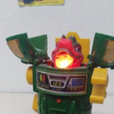 Figuras de acción: ANTIGUO ROBOT CABEZA DINOSAURIO AÑOS 70-80. Lote 158100097