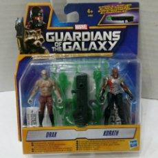 Figuras de acción: GUARDIANS OF THE GALAXY. DRAX. KORATH. NUEVO EN BLISTER. MARVEL. HASBRO. GUARDIANES GALAXIA.. Lote 186364546