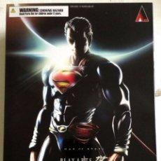 Figuras de acción: SUPERMAN PLAY ARTS Nº 1 ACTION FIGURE MAN OF STEEL. Lote 92053440