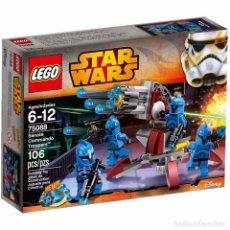 Figuras de acción: SENATE COMMANDO TROOPERS - 75088 - STAR WARS LEGO. Lote 92054685