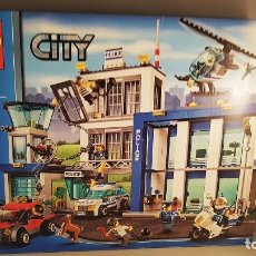 Figuras de acción: CAJA VACÍA LEGO CITY POLICE - 60047. INCLUYE INSTRUCCIONES. Lote 105878658