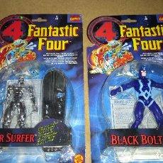 Figuras de acción: 2 BLISTER 4 FANTASTICOS MARVEL TOY BIZ 1996 NUEVOS SIN ABRIR. Lote 157740241